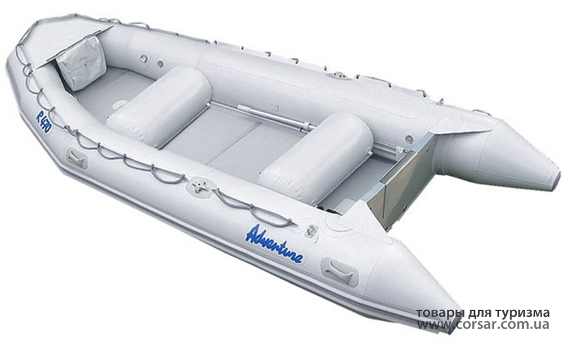 Лодка надувная Adventure Rubikon R-495