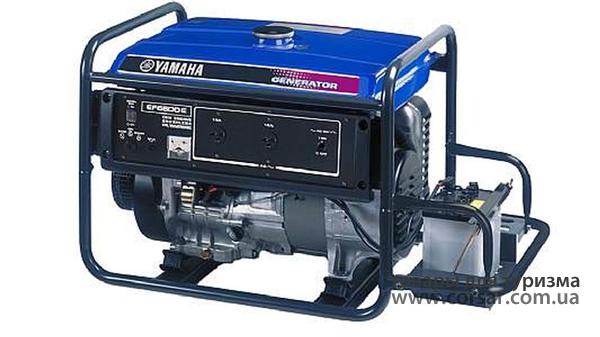 Генератор бензиновый Yamaha ЕF6600E
