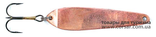 Блесна вертикальная зимняя Lucky John «MODEL B» с тройником 6340-C