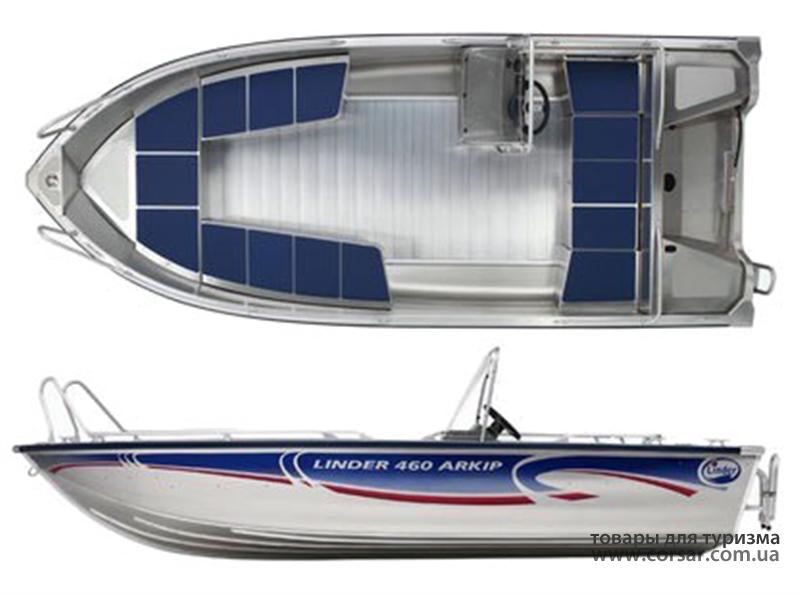 Лодка Linder Arkip 460