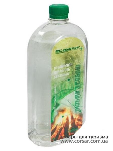 Жидкость для розжига Кемпинг 1л