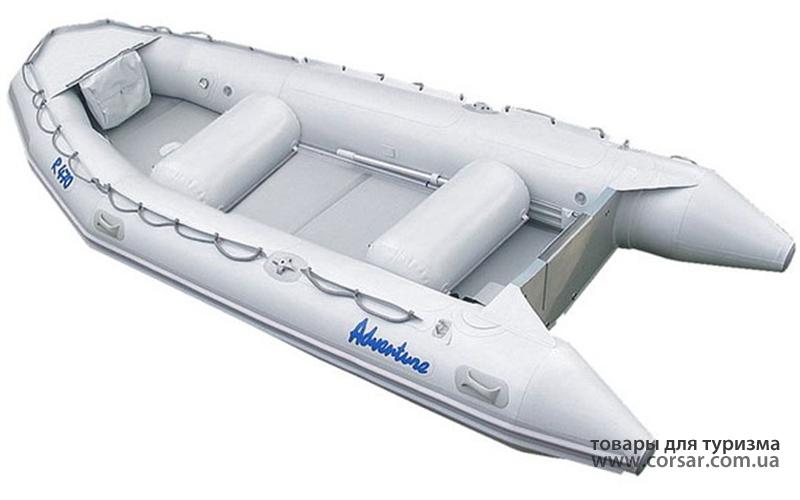 Лодка надувная Adventure Rubikon R-440