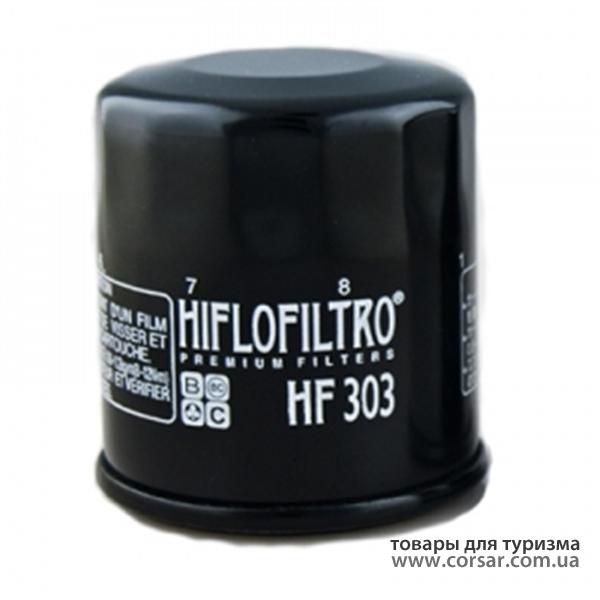 Фильтр масляный HF 303 Honda Yamaha Kawasaki Nissan
